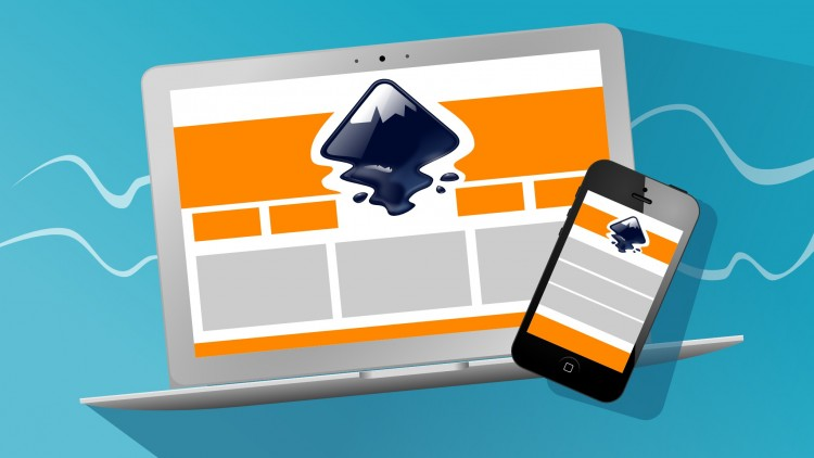Create your graphics for a responsive website with Inkscape