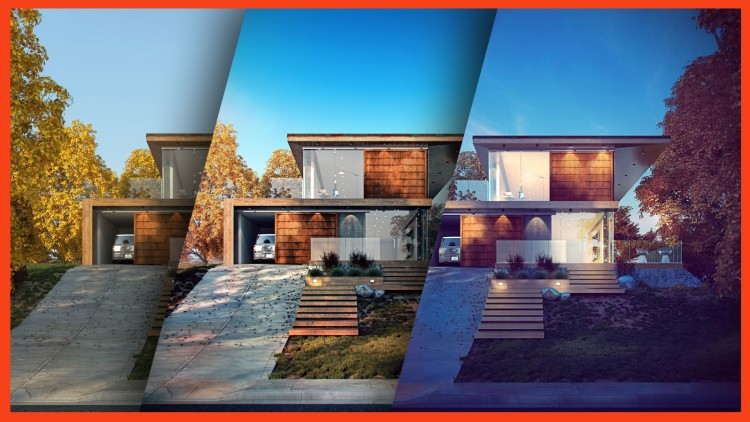 Photoshop for Arch Viz: Project Based Post-Processing Course