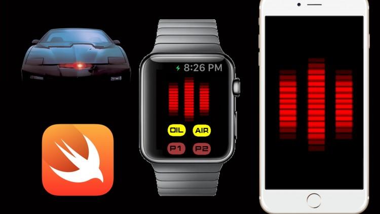 Build Knight Rider's KITT Voicebox Apple Watch & iPhone apps   Udemy