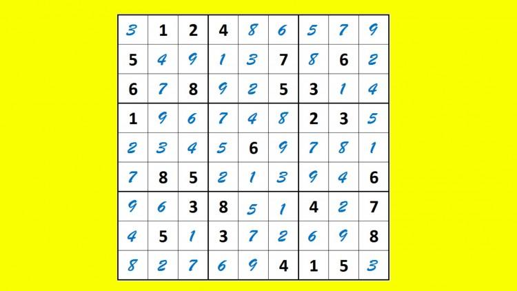 Sudoku made Easy   Udemy