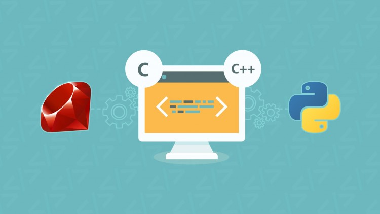 C, C++, Python and Ruby Programming