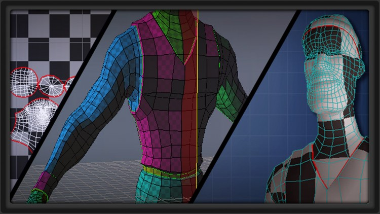 Explore Multiple UV Unwrapping Options for Games and Film