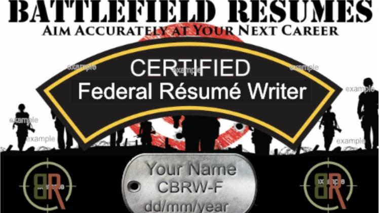 Federal Resume Writer Certification Udemy