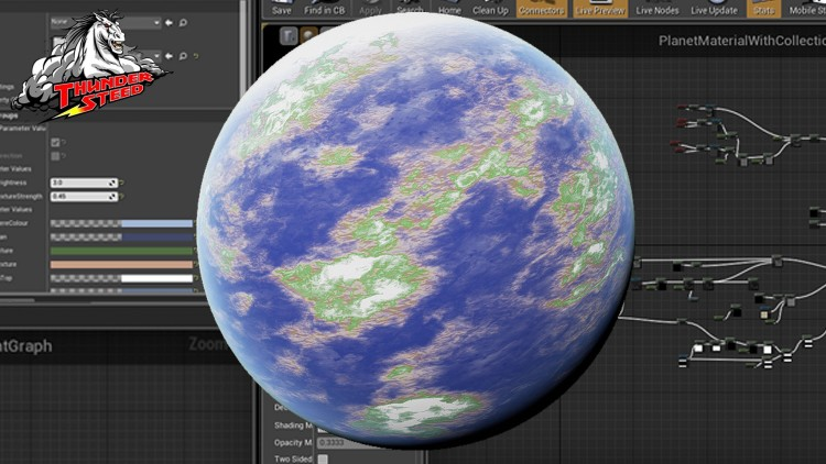 Creating Modular Planets in Unreal Engine 4 | Udemy