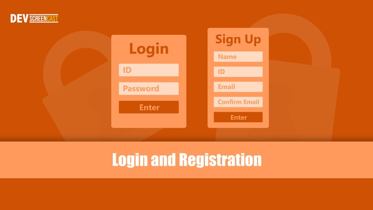 PHP: Complete Login and Registration System with PHP & MYSQL