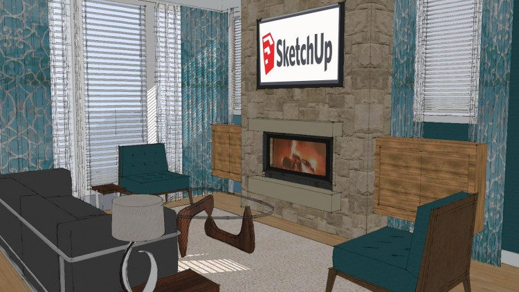SketchUp BootCamp: Creating Interiors with SketchUp | Udemy