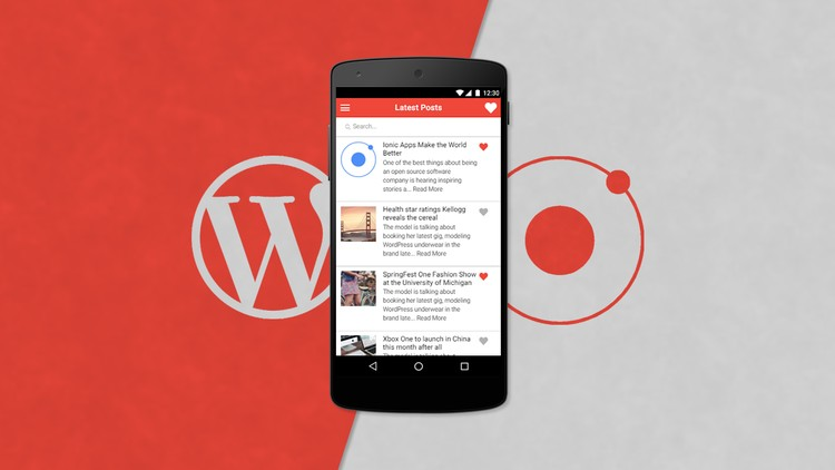 Android and iOS Apps for Your Wordpress Blog | Udemy