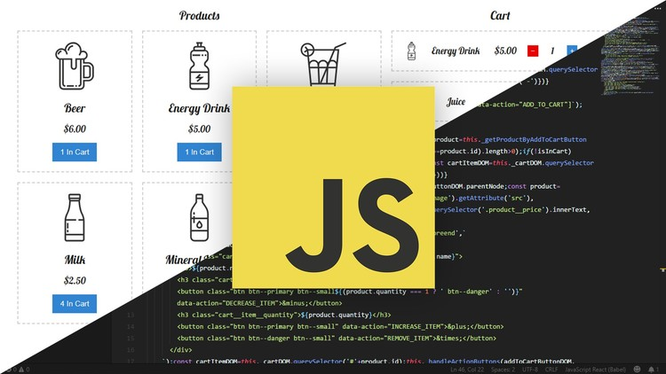 VanillaCartJS - ES6 JavaScript Shopping Cart | Udemy