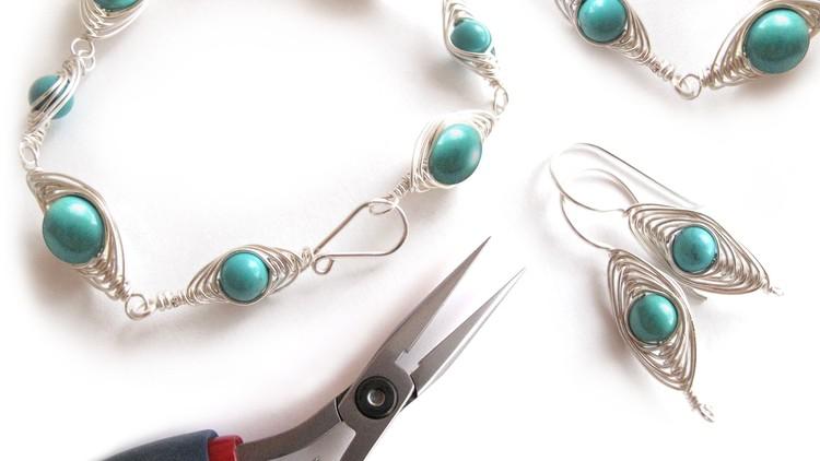Pleasant Jewelry Making Decorative Wire Wrapping 1 Herringbone Udemy Wiring Database Xlexigelartorg