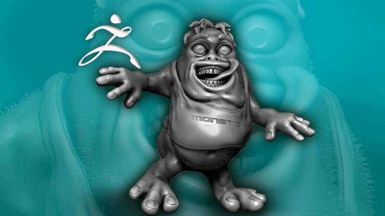 Create Fun Monsters in ZBrush 4 R7 - learn to sculpt in 3D