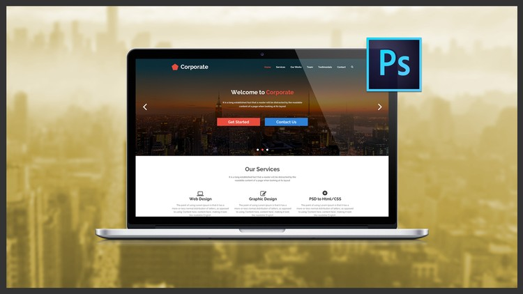 The Ultimate Web Designing Course in Photoshop | Udemy
