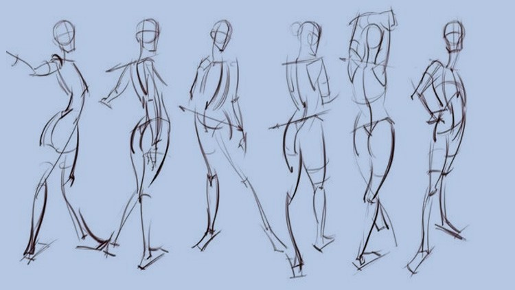 The Power of Gesture Drawing: how to gesture draw figures | Udemy