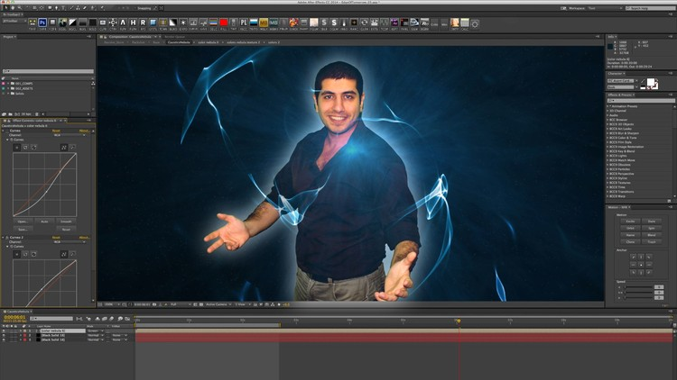 Learning Adobe After Effects cc  in egyptian arabic