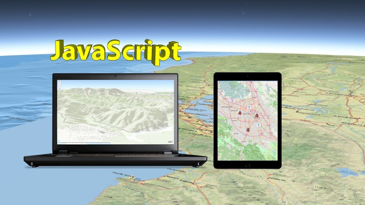 Start Web Development with GIS Map in JavaScript | Udemy