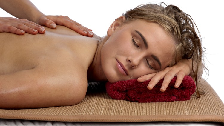 Porn pic woman massage naked sensual