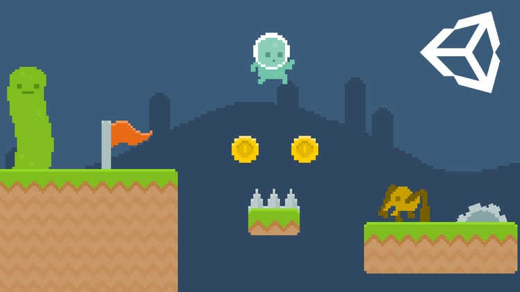Learn To Code By Making a 2D Platformer in Unity | Udemy