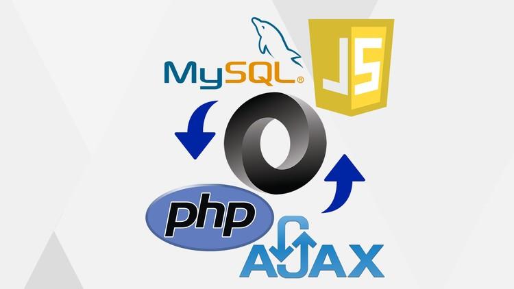 JSON AJAX data transfer to MySQL database using PHP | Udemy