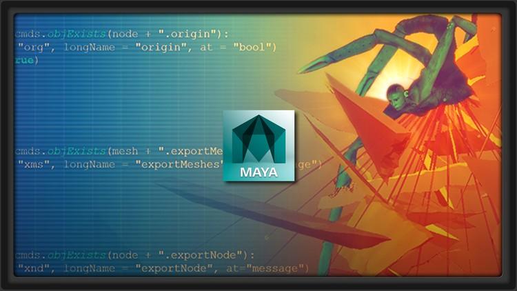 Learn Advanced Scripting in Maya by Building Custom Tools | Udemy