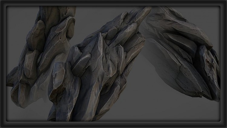 Texturing and Baking Game Assets in ZBrush, xNormal and nDo