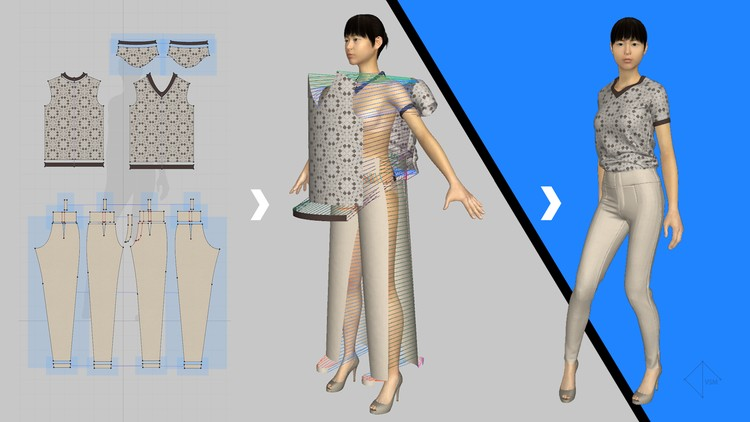 Fashion Design: Sketch in 3D using Marvelous Designer | Udemy