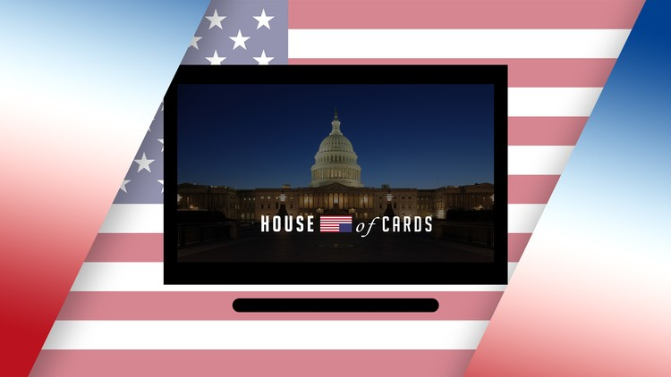 After Effects: House of Cards Title Card Animation