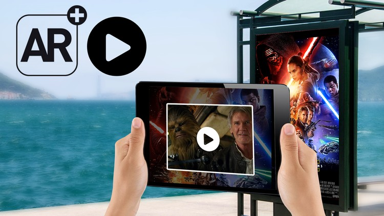 Augmented Reality Project : Image Targeted Video Playback