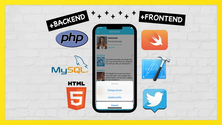 Full PHP & Swift  Create iOS Social App on Custom Backend | Udemy