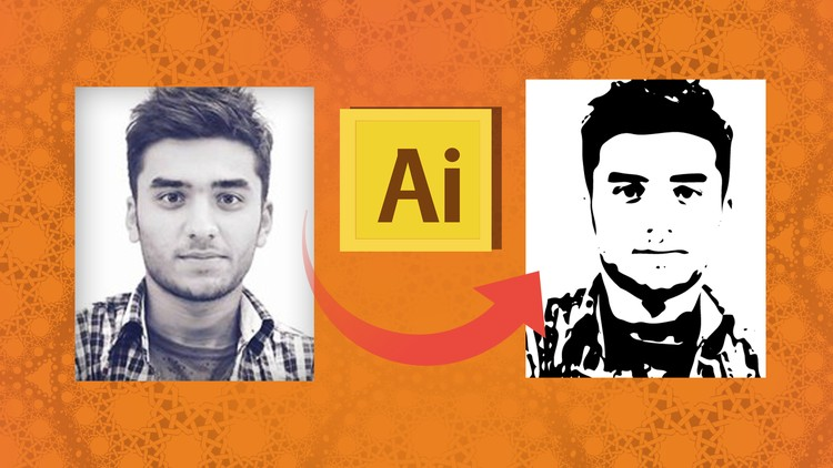 Convert Image to Vector in Adobe illustrator