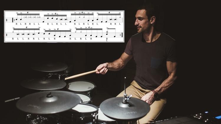 Advanced Sextuplet Chops - Gospel Chops Drumming Masterclass   Udemy