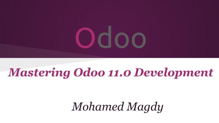 Mastering Odoo v11 0 Development | Udemy