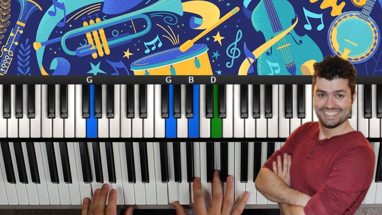 Blues Piano Lessons! A Course In Blues Piano & Improvisation | Udemy