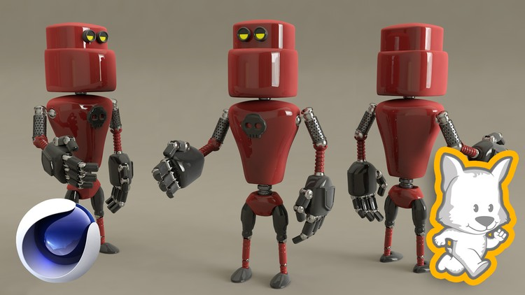 3D Character Creation in Cinema 4D: Modeling a 3D Robot | Udemy