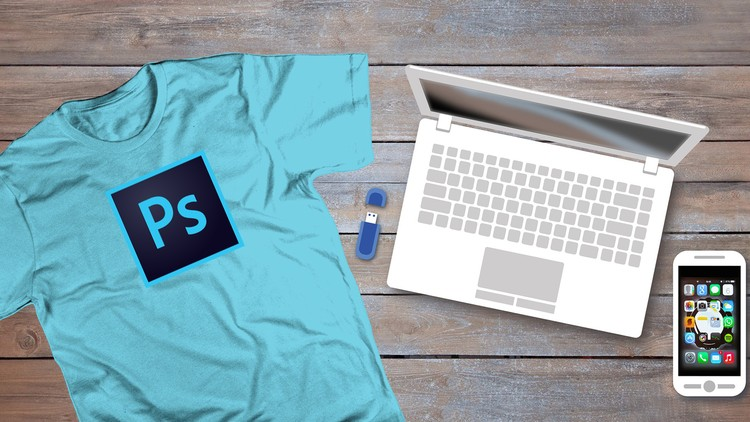 6b53123a9 Photoshop For T-shirt Design: For Beginners | Udemy